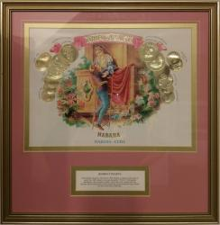 Havana Romeo y Julieta cigars certificate