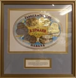 Havana Fabrica de Tabacos cigars certificate