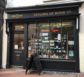 Taylors Cigar Shop in Bond Street, Brighton