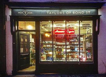 Taylors Cigar shop - Night time